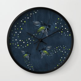 Trail of Stars Wall Clock
