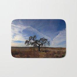 Lone Oak Tree, Laguna de Santa Rosa, Sonoma County Bath Mat