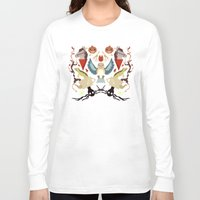 over the garden wall Long Sleeve T-shirts featuring Over The Garden Wall by Berneri