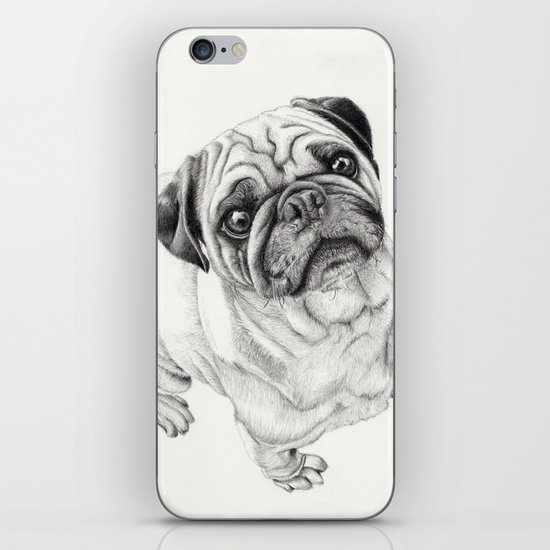 Seymour the Pug iPhone & iPod Skin