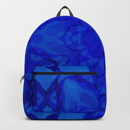 Blue kaleidoscope 2 Backpack