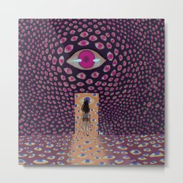 thousand eyes Metal Print