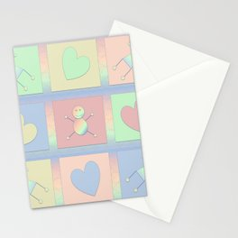 Two Mommies Rainbow Peeps Stationery Cards