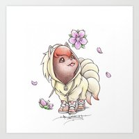 projectrocket Art Prints featuring I too will Blossom by Randy C