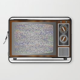 Old Television Static Laptop Sleeve