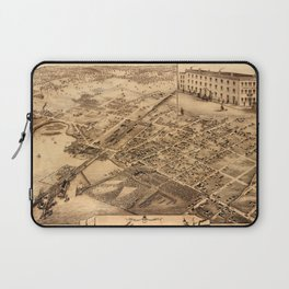 Map Of Collingwood 1875 Laptop Sleeve