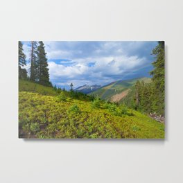 High Country Rainbow Metal Print