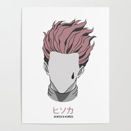 Hisoka from Hunter X Hunter Poster