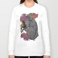 shell Long Sleeve T-shirts featuring shell by dixis84
