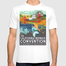 Poster Art ·•· California Mermaid Convention T-shirt