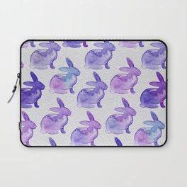 Watercolor Bunnies 1K by Kathy Morton Stanion Laptop Sleeve