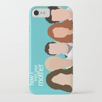 himym iPhone & iPod Cases featuring How I Met Your Mother by Rosaura Grant