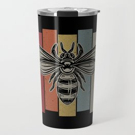 Vintage Bee Travel Mug