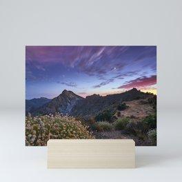 Boca De La Pesca And The Moon. 1.518 Meters Mini Art Print