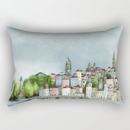 Porto landscape Rectangular Pillow