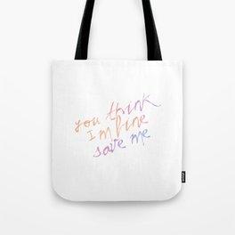 LY: Taehyung Ver. Tote Bag