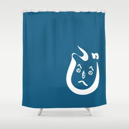 HeNoHeNoMoHeJi Shower Curtain
