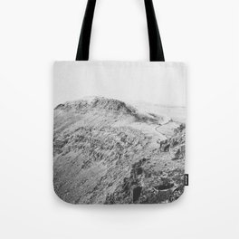 THE MOUNTAINS V (B+W) / Oregon Tote Bag