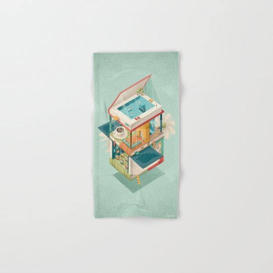 Creative house Hand & Bath Towel
