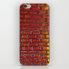 Up against the wall iPhone & iPod Skin