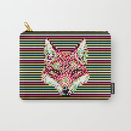 Pixel Fox Carry-All Pouch