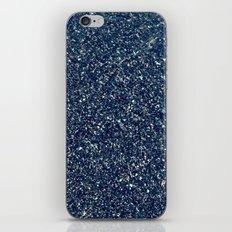 Black Sand II (Blue) iPhone Skin