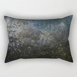 Ancient metal shield texture Rectangular Pillow