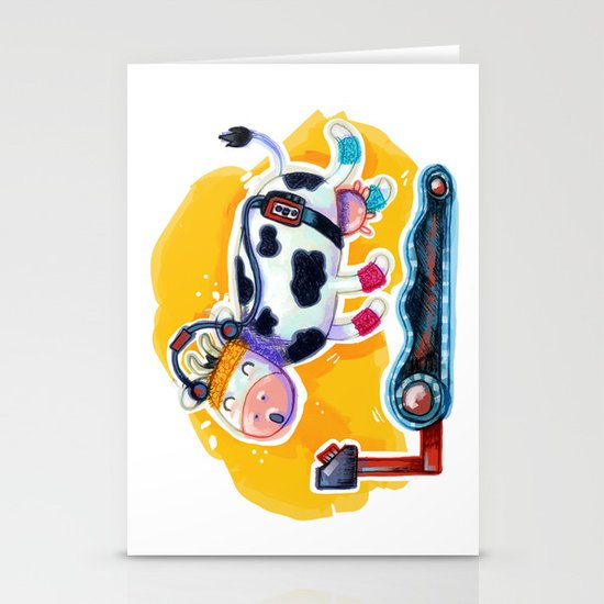Fat Free Milk Stationery Cards