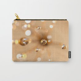 Queen Anne's Lace in Gold Carry-All Pouch
