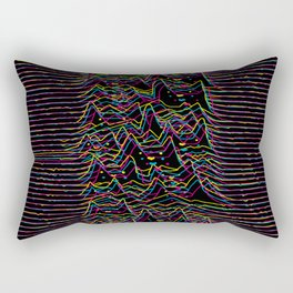 Furr Division Glitch Rectangular Pillow