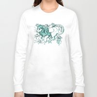 leon Long Sleeve T-shirts featuring LEON by Pauillustration