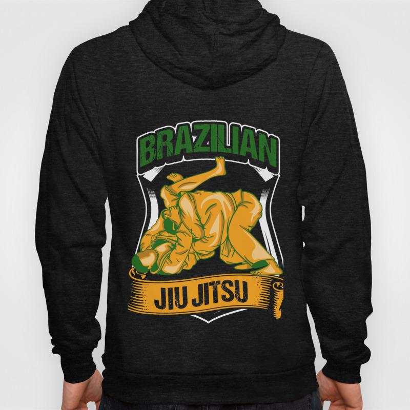 Brazilian Jiu Jitsu Gift Hoody by yeoys