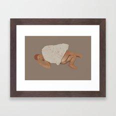 blanket Framed Art Print