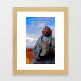 Drum Framed Art Print