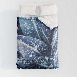Classic Blue Plant Comforters