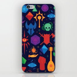 DnD Forever - Color iPhone Skin