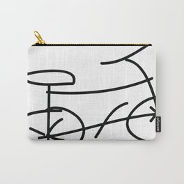 Bike drawing Carry-All Pouch