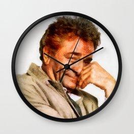 Peter Falk as Columbo Wall Clock