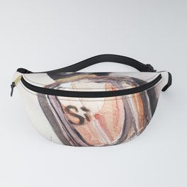 Si -  Perfume - Watercolor Fashion Illustration Fanny Pack