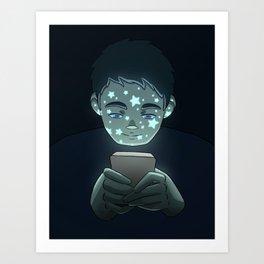 Personas Estrelladas: 02 celular Art Print