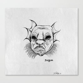 dagon. Canvas Print