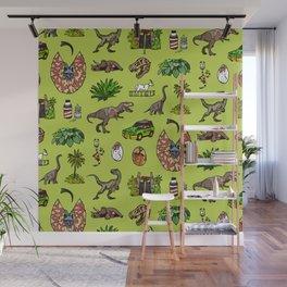 Jurassic pattern lighter Wall Mural