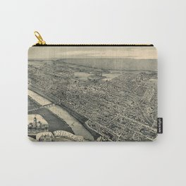 Map Of Wilkes Barre 1889 Carry-All Pouch