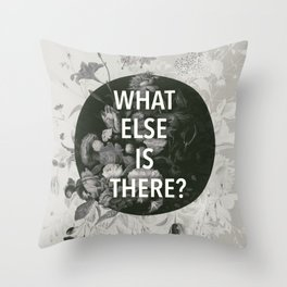 And the flashlights, nightmares And sudden explosions Throw Pillow