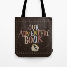 our adventure book Tote Bag