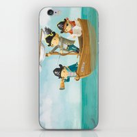 pirates iPhone & iPod Skins featuring Pirates! by Joy Paton