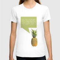 psych T-shirts featuring psych tv show... im not inclined to resign to maturity by studiomarshallarts