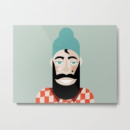 Paul Bunyan Metal Print