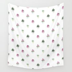 4 plants Wall Tapestry