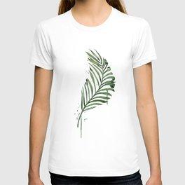 Palm Leaf Illustration T-shirt